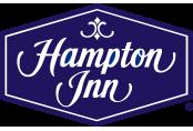 Hampton Innn Logo in purple