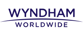 Wyndham logo in purple