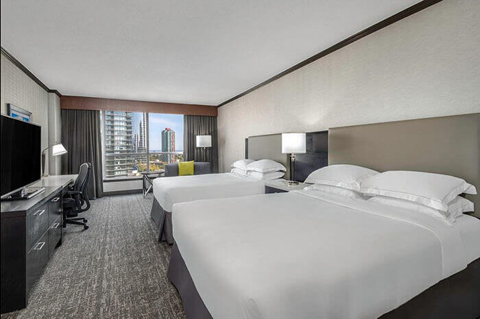 Hilton Metrotown Room Example